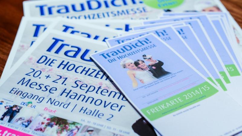 Thorsten & Anna zeigen Hochzeitsfotografien auf der TrauDich in Hannover. Wir haben für euch noch Freikarten. Einfach Termin vereinbaren.